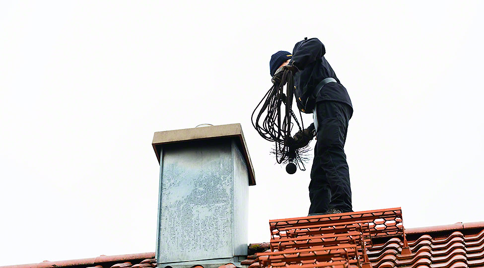 What does a fireplace and chimney inspection usually entail?